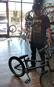 Custom BMX Bike - Brendan J