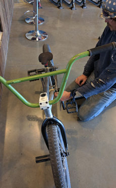 Custom BMX Bike - Pat H